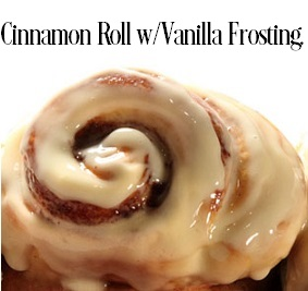 Cinnamon Rolls With Vanilla Cream Frosting FO 1993