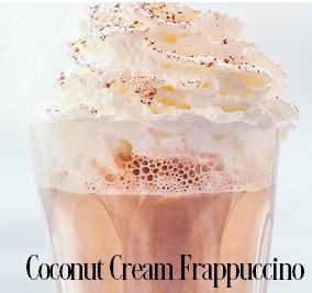 Coconut Cream Frappuccino* Fragrance Oil 19948