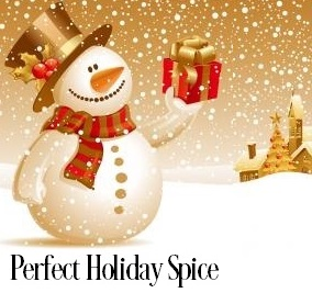 Perfect Holiday Spice Fragrance Oil 20192