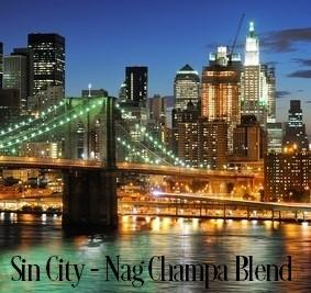 Sin City (Nag Champa Blend) Fragrance Oil 20295